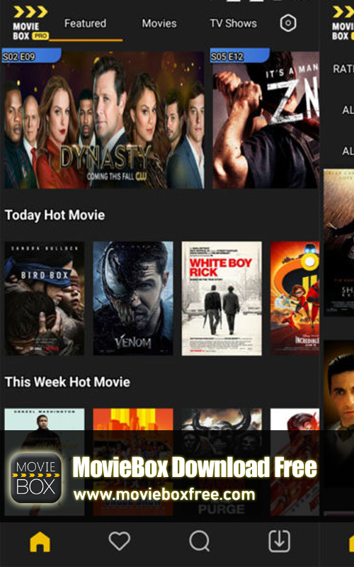 MovieBox Download, MovieBox Apk