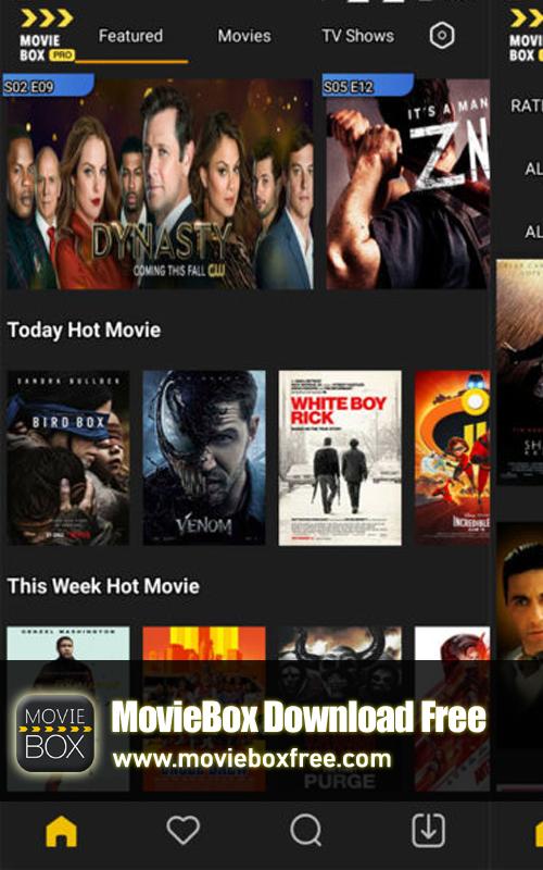 MovieBox Download, MovieBox Apk